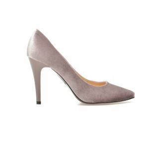 Pantofi Arozo Lila 049999, Din Velur