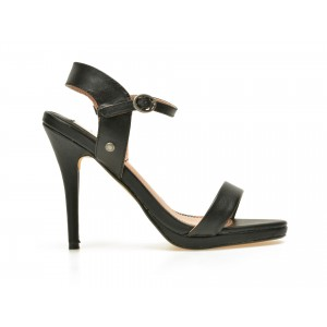 Sandale Pepe Jeans Negre, Ls90275, Din Piele Naturala