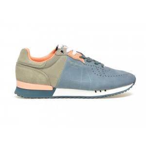 Pantofi Sport Pepe Jeans Bleumarin, Ms30355, Din Piele Ecologica