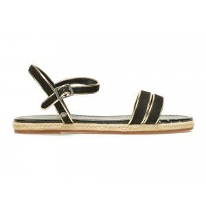 Sandale Pepe Jeans Negre, Ls90281, Din Piele Ecologica