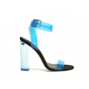 Sandale Epica Albastre, Gemma, Din Pvc