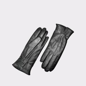 Manusi Negre, D52, Din Piele Naturala
