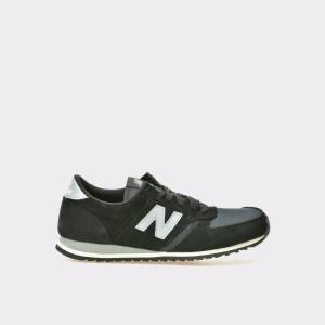 Pantofi Sport New Balance Negri, U420, Din Material Textil Si Piele