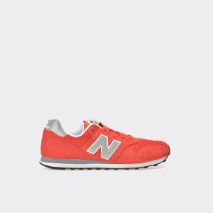 Pantofi Sport New Balance Rosii, Ml373, Din Material Textil Si Piele
