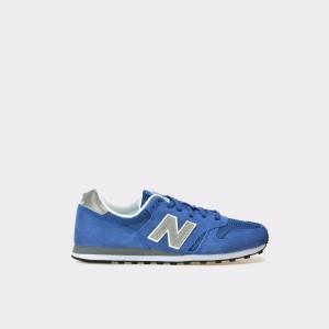 Pantofi Sport New Balance Albastri, Ml373, Din Material Textil Si Piele