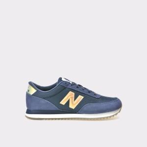 Pantofi Sport New Balance Bleumarin, Wz501, Din Material Textil Si Piele