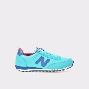Pantofi Sport New Balance Turcoaz, Wl410, Din Material Textil Si Piele