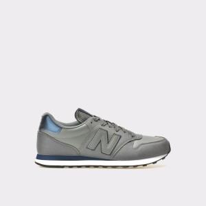 Pantofi Sport New Balance Gri, Gm500, Din Piele Intoarsa