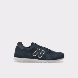 Pantofi Sport New Balance Negri, Ml373, Din Piele Intoarsa