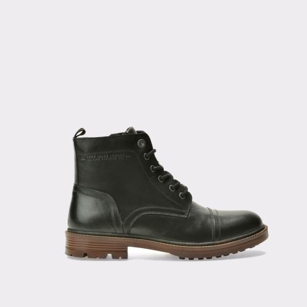 Ghete PEPE JEANS negre, Ms50118, din piele naturala de la Pepe Jeans otter.ro