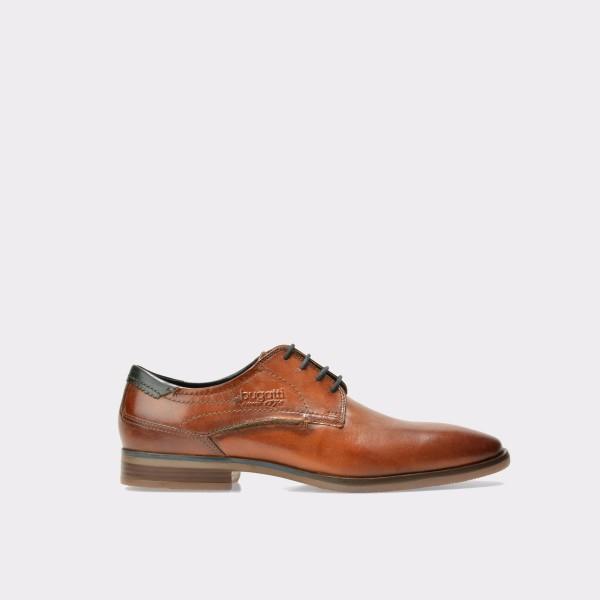Pantofi BUGATTI maro, 16701, din piele naturala de la Bugatti otter.ro