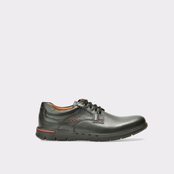 Pantofi OTTER negri, 308, din piele naturala de la Otter otter.ro