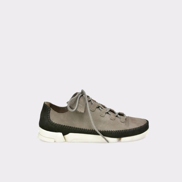 Pantofi CLARKS gri, 6122817, din nabuc de la Clarks otter.ro