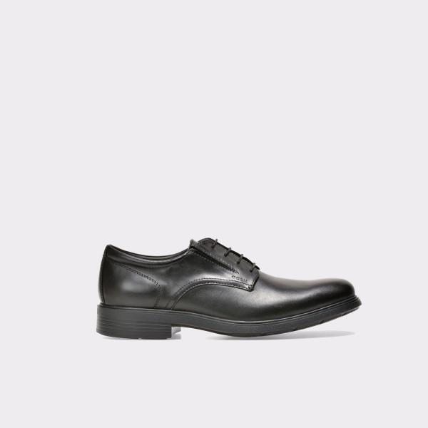 Pantofi GEOX negri, U34R2A, din piele naturala de la Geox otter.ro