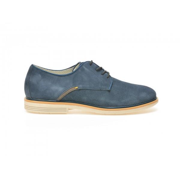 Pantofi TRIVICT bleumarin, S17014, din piele intoarsa de la Trivict otter.ro