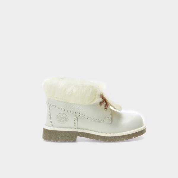 Ghete pentru copii TARTY albe, Mk2125, din piele naturala de la Tarty by Melania otter.ro