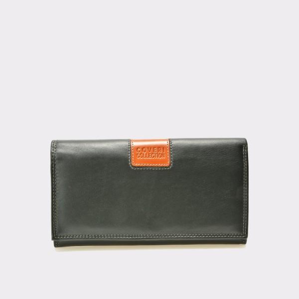 Portofel negru, 8668895, din piele naturala de la Altele otter.ro
