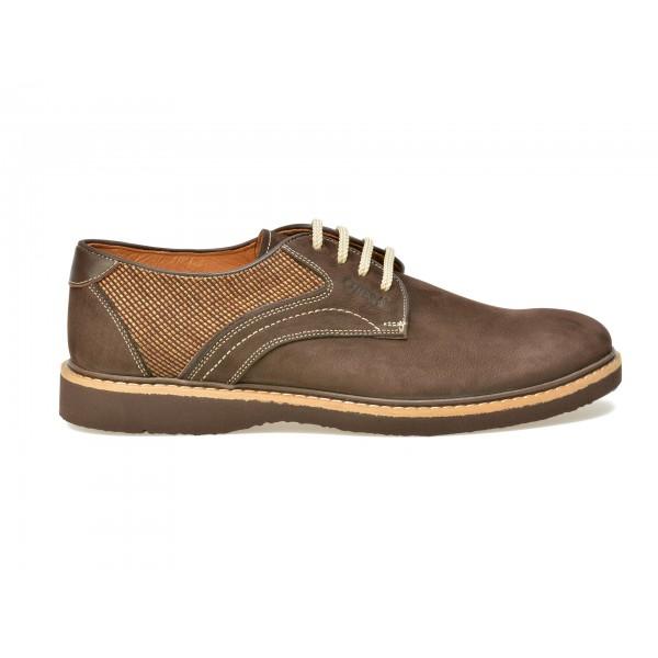 Pantofi OTTER maro, 7418, din nabuc de la Otter otter.ro
