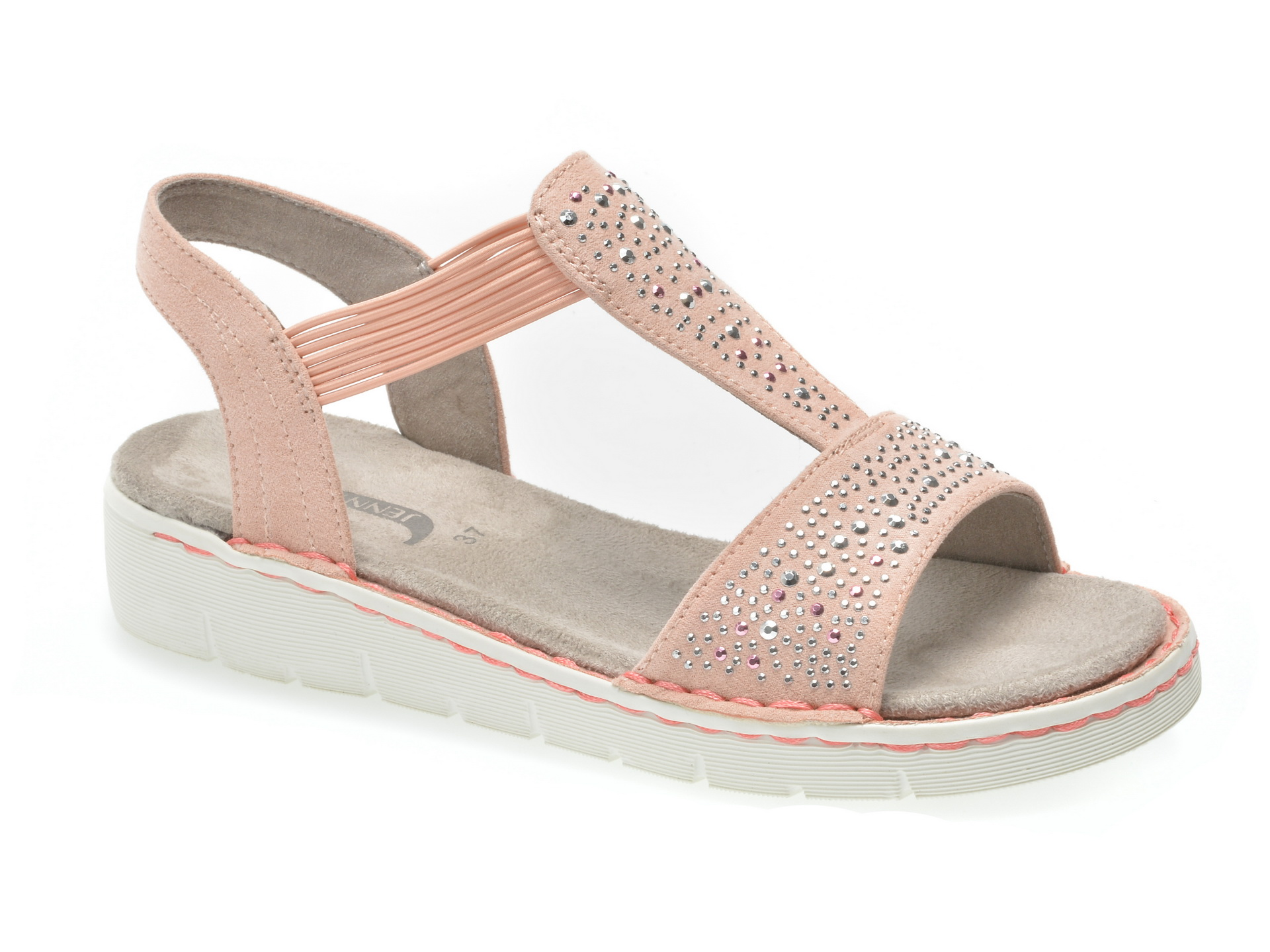 Sandale JENNY by ARA roz, 57203, din piele ecologica