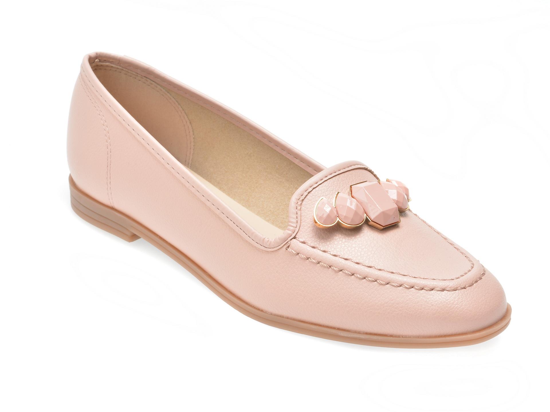 Pantofi roz, 5639102, din piele ecologica