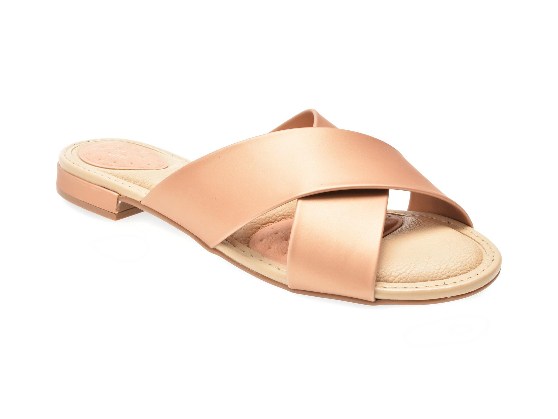 Papuci nude, 7502210, din piele ecologica