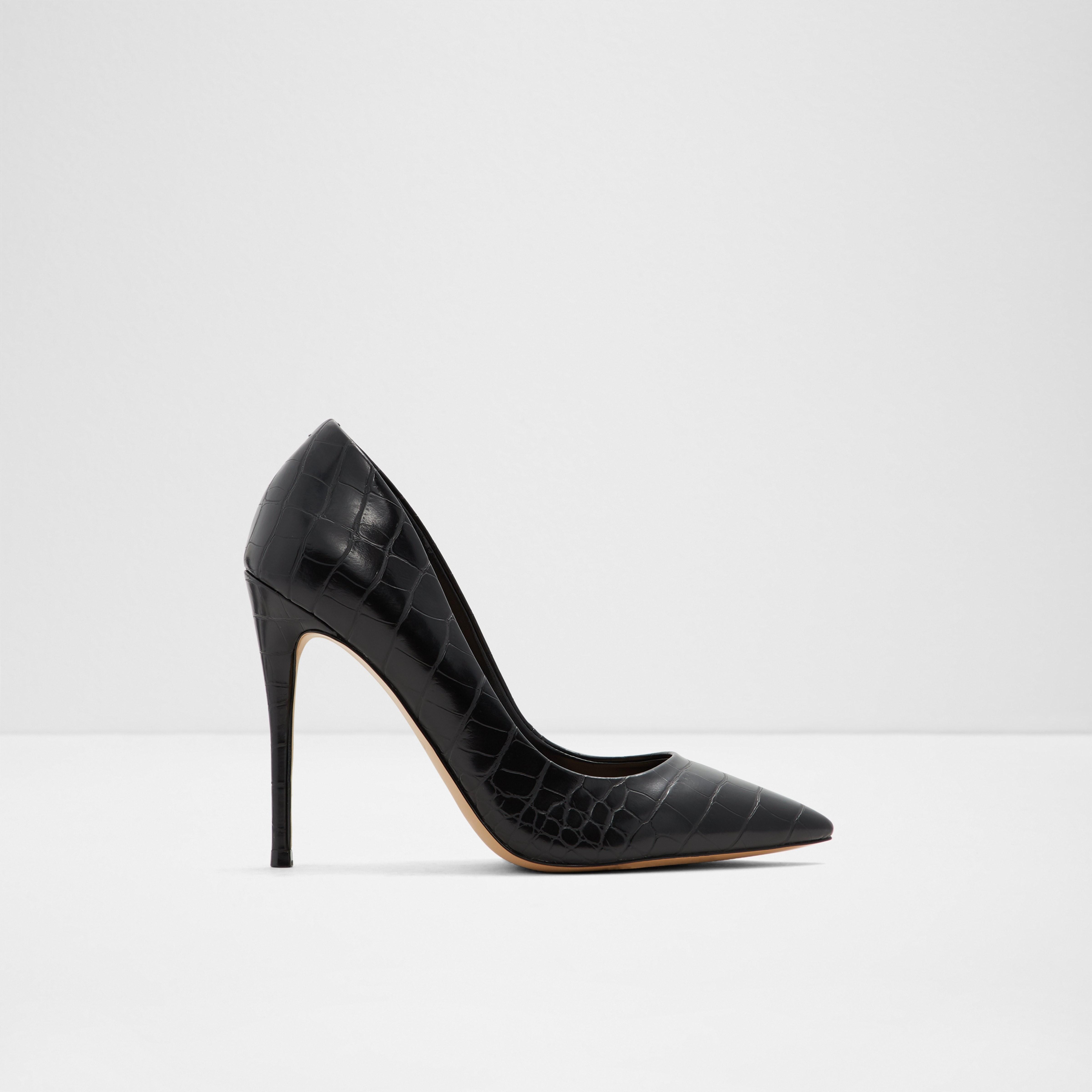 san francisco cost scăzut vânzări cu ridicata Pantofi negri, Stessy_001, din piele ecologica | ALDO Romania