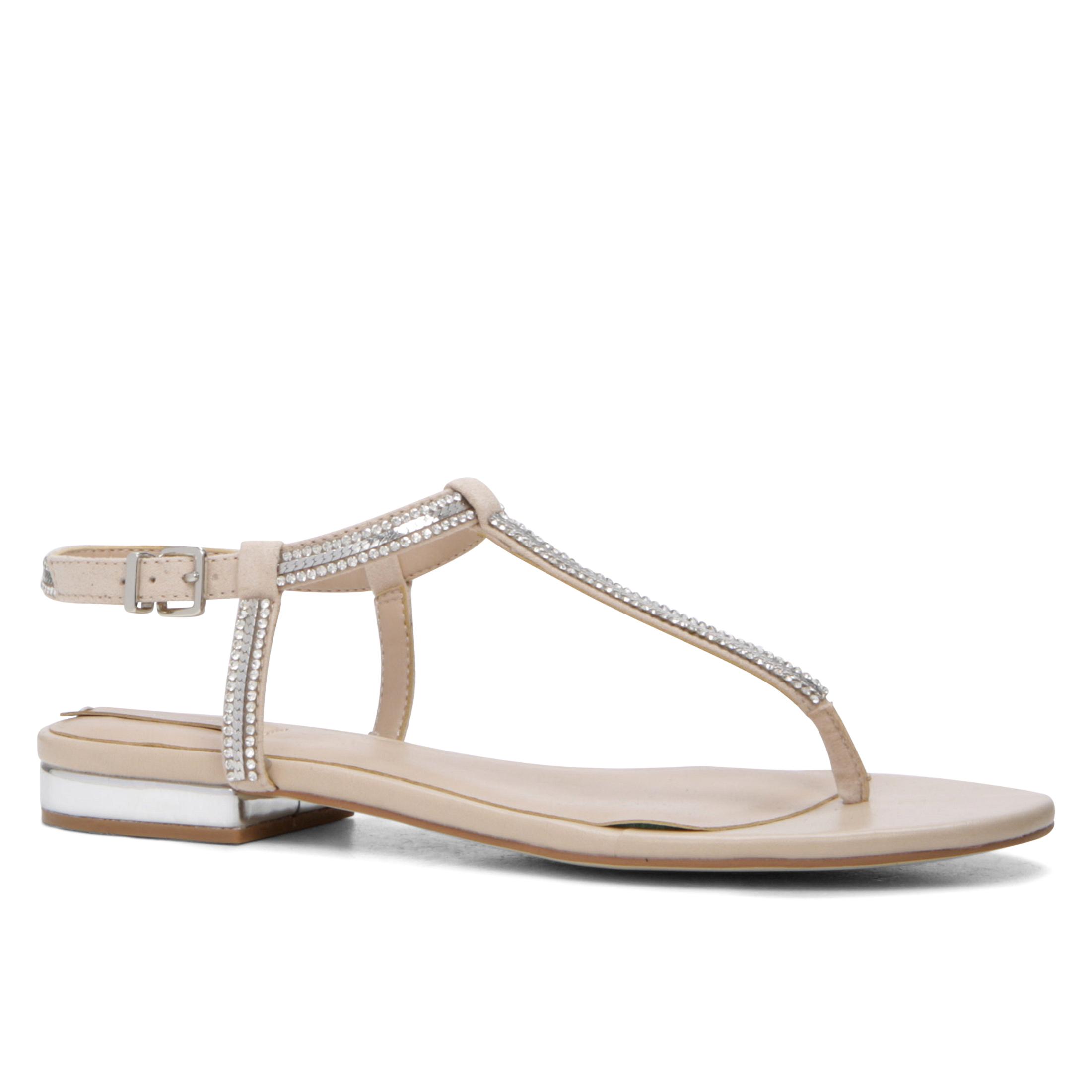 Sandale fildes, de dama, ALDO DIAMANTE, din piele ecologica
