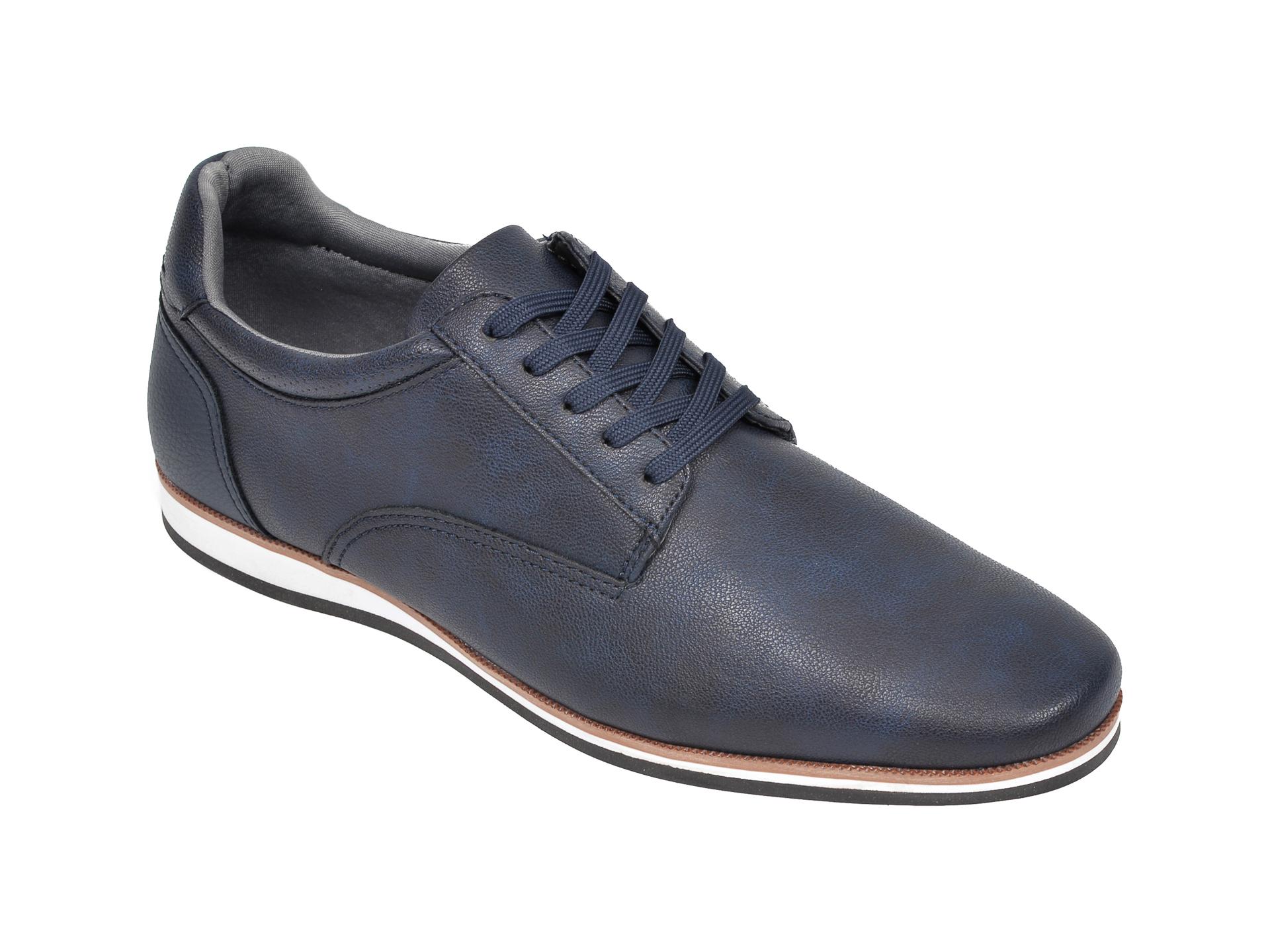Pantofi Aldo Bleumarin, Toppole969, Din Piele Ecologica