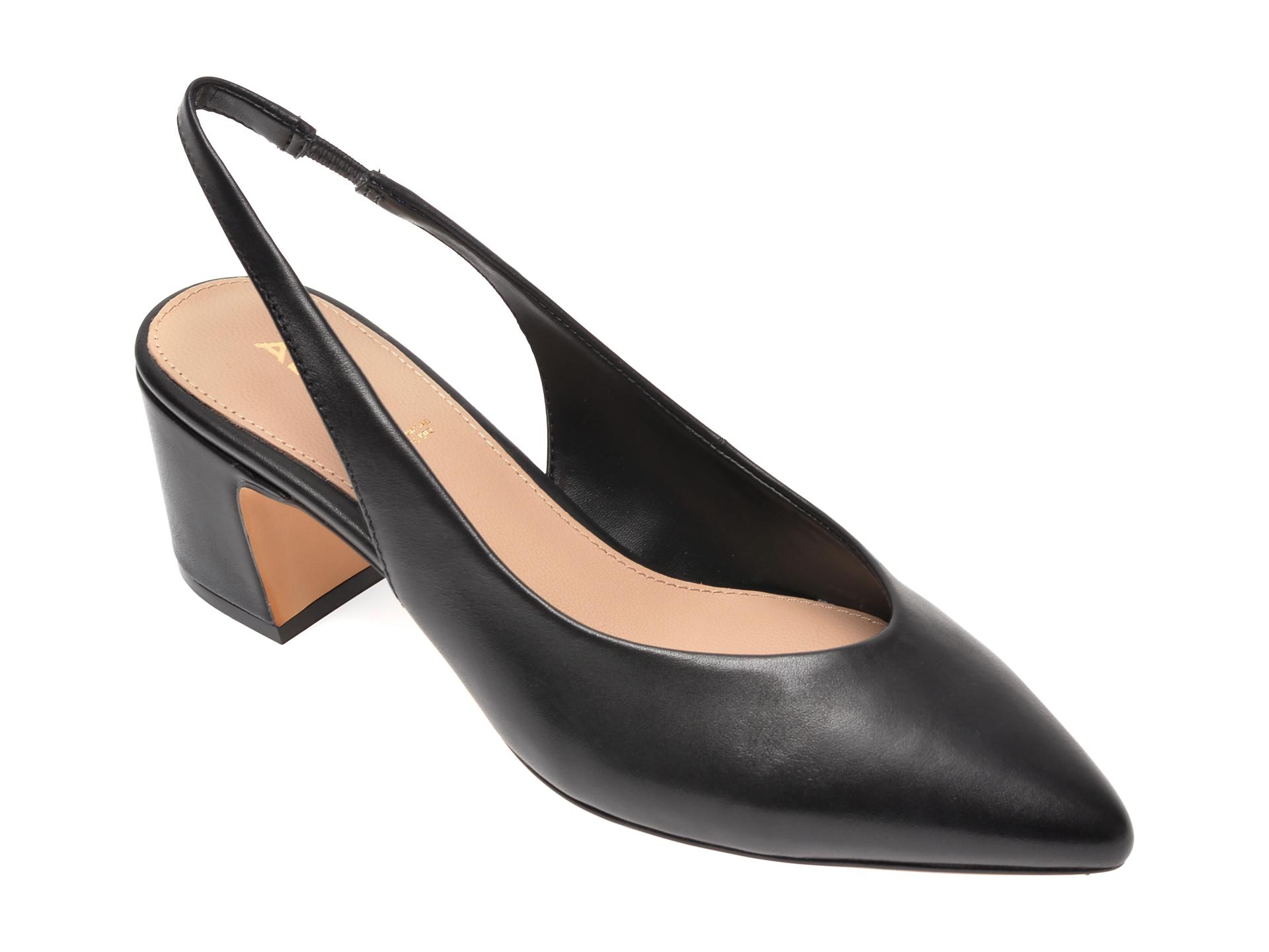 Pantofi Aldo Negri, Civet001, Din Piele Naturala