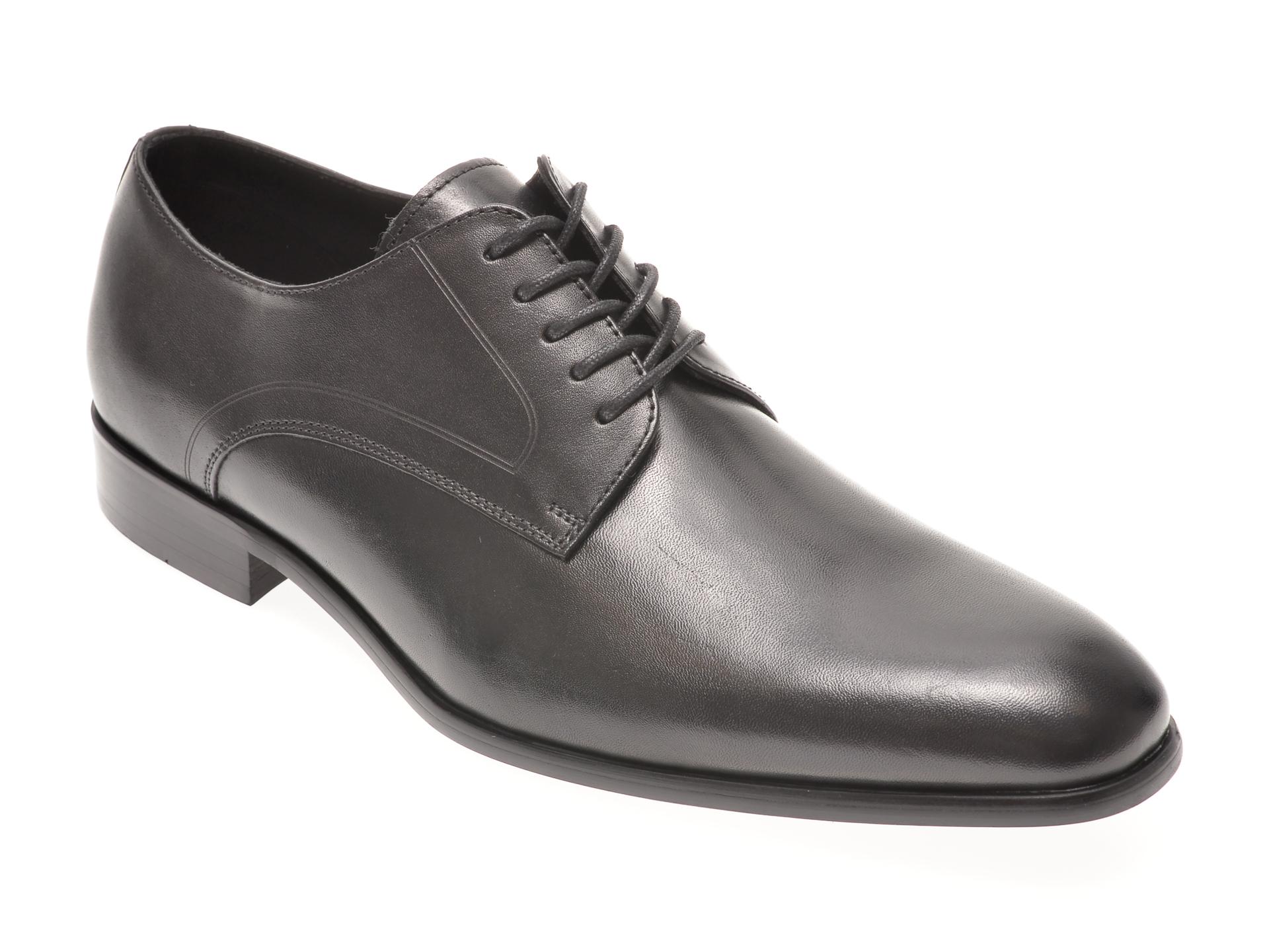 Pantofi Aldo Negri, Proven001, Din Piele Naturala