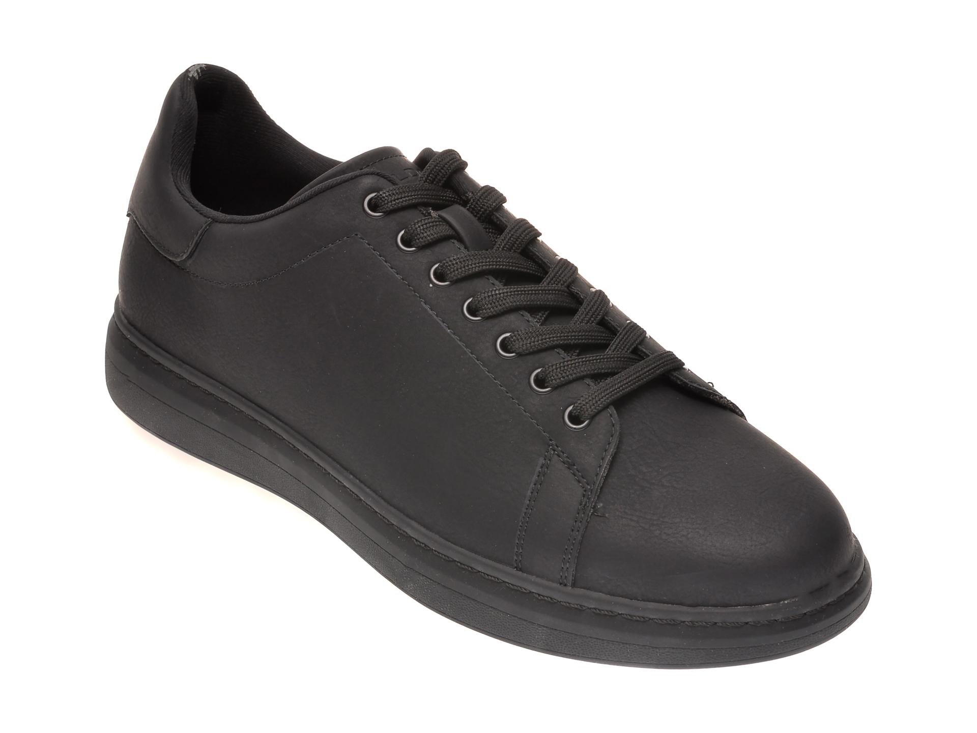 Pantofi Negri, Dallyn001, Din Piele Ecologica