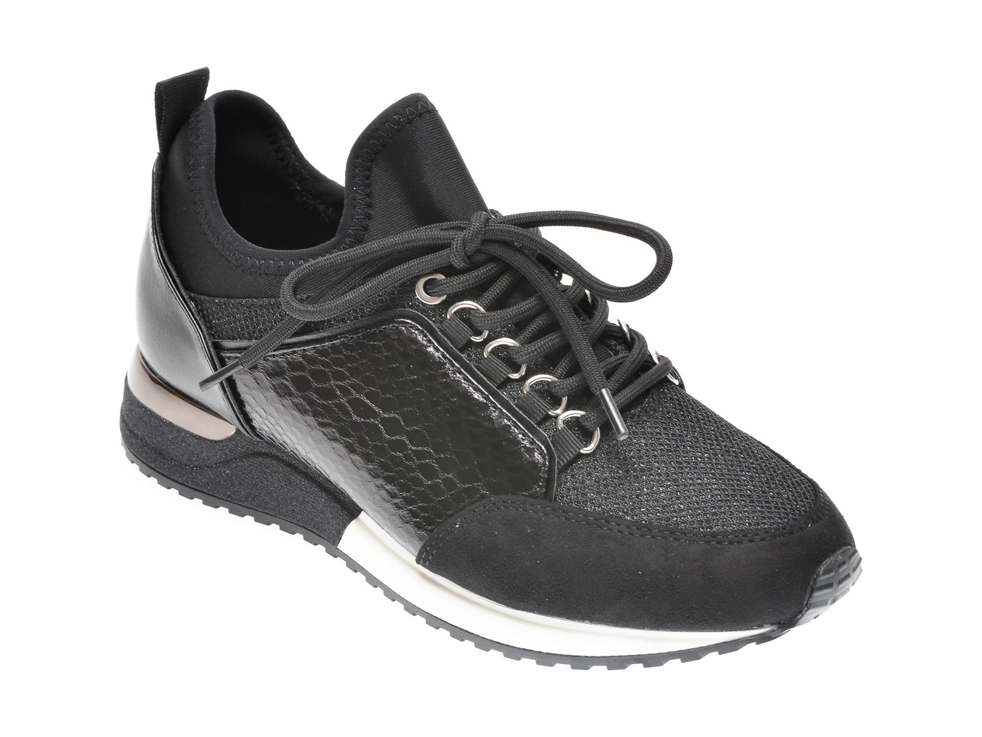 Pantofi Sport Aldo Negri, Courtwood001, Din Material Textil Si Piele Ecologica