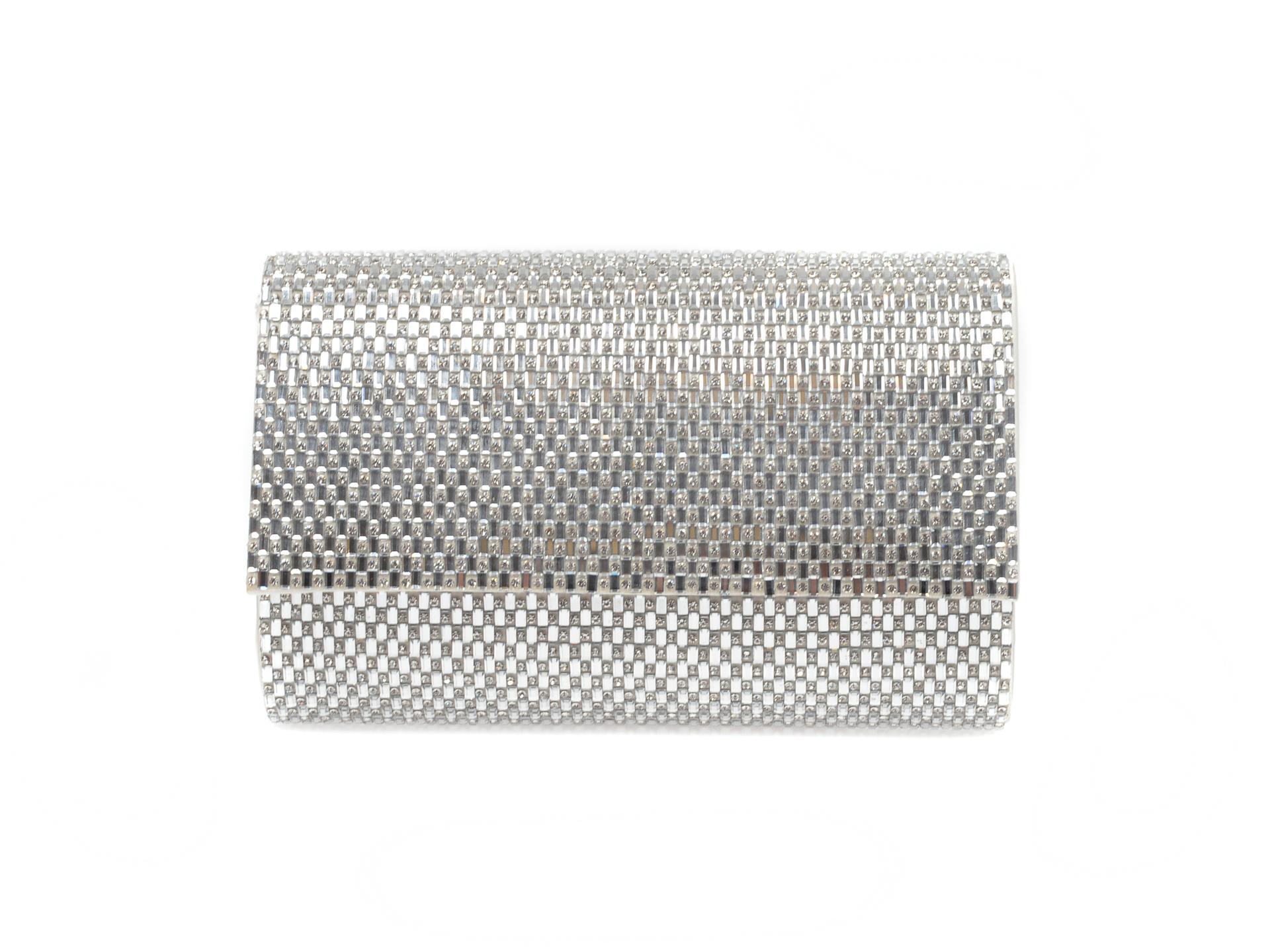 Poseta Aldo Argintie, Peleaga040, Din Material Textil
