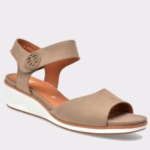 Sandale ARA maro, 35314, din nabuc