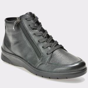 Pantofi ARA negri, 41048, din piele naturala
