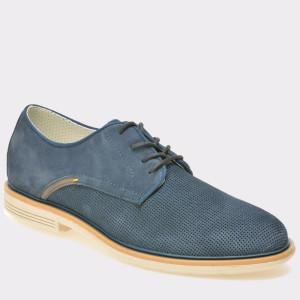 Pantofi TRIVICT bleumarin, S17014, din piele intoarsa