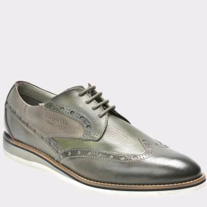 Pantofi BUGATTI kaky, 45401, din piele naturala