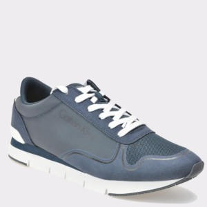 Pantofi CALVIN KLEIN bleumarin, Se8457, din piele ecologica
