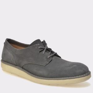 Pantofi CLARKS gri, 6124479, din piele intoarsa