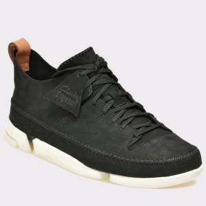 Pantofi CLARKS negri, 6107366, din nabuc