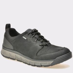 Pantofi CLARKS negri, 6130134, din nabuc