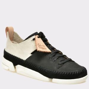 Pantofi CLARKS negri, 6122730, din nabuc