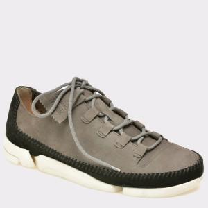 Pantofi CLARKS gri, 6122817, din nabuc
