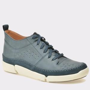 Pantofi CLARKS bleumarin, 6127210, din nabuc