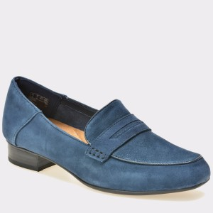 Pantofi CLARKS bleumarin, 6129477, din piele intoarsa