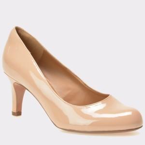 Pantofi CLARKS nude, 6104368, din piele ecologica