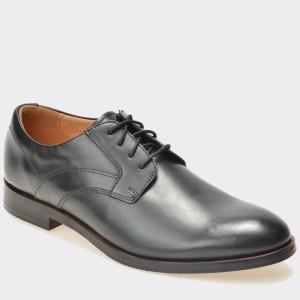 Pantofi CLARKS negri, 6127197, din piele naturala