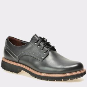 Pantofi CLARKS negri, 6127549, din piele naturala