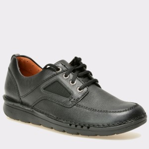 Pantofi CLARKS negri, 6127942, din piele naturala