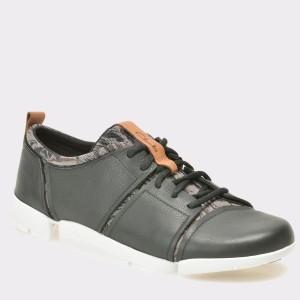 Pantofi CLARKS negri, 6126749, din piele naturala